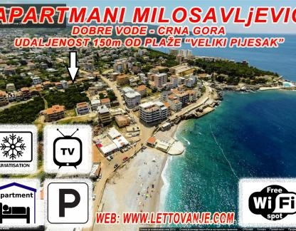 Private Accommodation Milosavljevic Apartmani In Place Dobre Vode